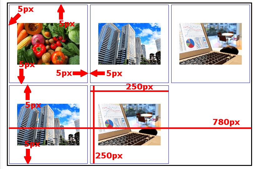 FC2ブログの画像を横並び表示させる方法3 (15)