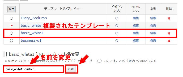 FC2ブログの記事の日付を非表示にする方法3 (3)