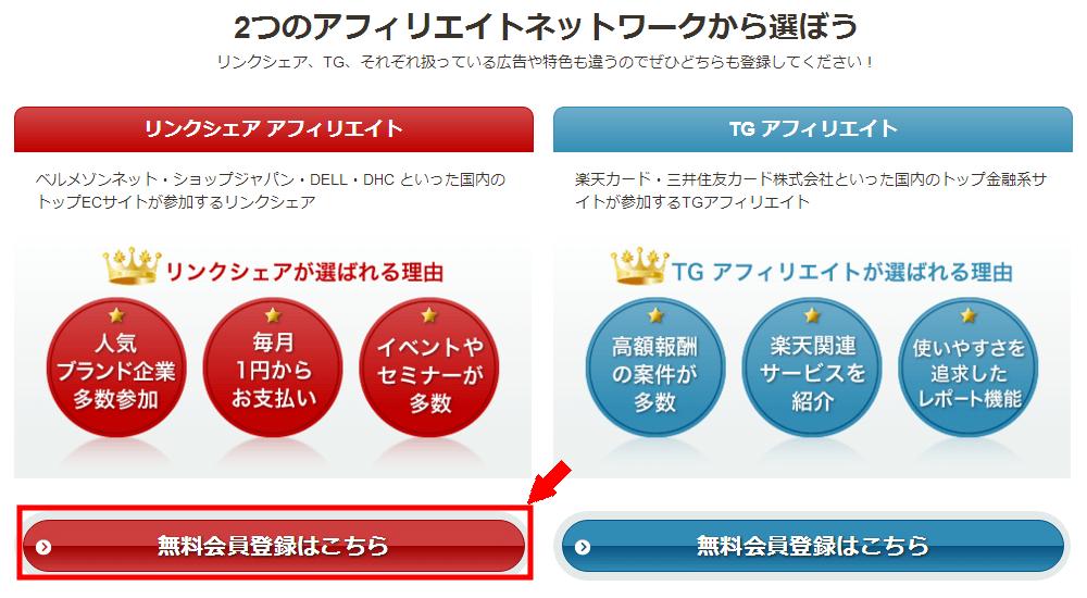 LinkShareの無料会員登録の仕方3 (2)