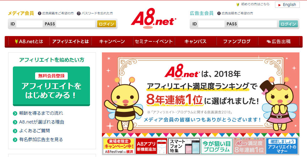 A8net top page (3)