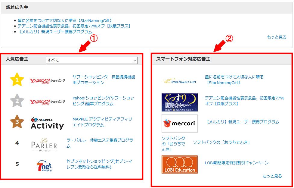 FC2ブログのサイドバーにバリューコマースのテキスト広告を貼る方法3 (17)