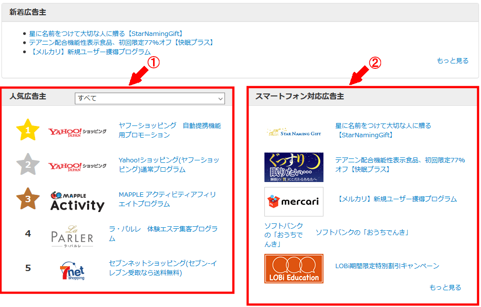 FC2ブログの記事内にバリューコマースのバナー広告を横並びに貼る方法3 (12)