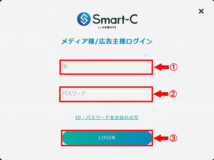 FC2ブログの記事内にSmart-Cのテキスト広告を貼る方法3 (9)