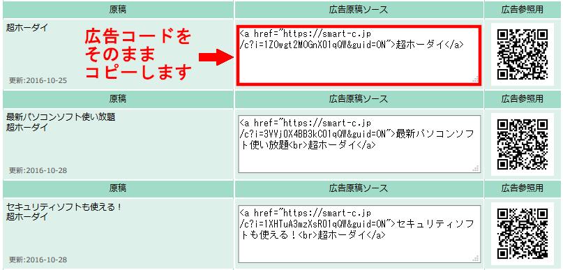 FC2ブログの記事内にSmart-Cのテキスト広告を貼る方法3 (15)